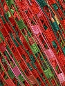 Trellis  Fiber Content 100% Polyester, Red, Pink, Brand ICE, Green Shades, Yarn Thickness 5 Bulky  Chunky, Craft, Rug, fnt2-46974
