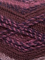 Fiberinnhold 100% Akryl, Rose Pink, Maroon, Brand Ice Yarns, Brown, Yarn Thickness 4 Medium  Worsted, Afghan, Aran, fnt2-47022