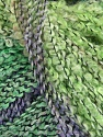 Kuitupitoisuus 49% Akryyli, 35% Villa, 16% Polymidi, Pink, Lilac, Brand Ice Yarns, Green Shades, fnt2-47092
