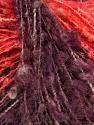 Contenido de fibra 54% Lana, 35% Acrílico, 11% Poliamida, Salmon, Purple, Brand Ice Yarns, fnt2-47105