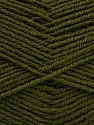 Fiber Content 55% Virgin Wool, 5% Cashmere, 40% Acrylic, Brand ICE, Dark Green, Yarn Thickness 2 Fine  Sport, Baby, fnt2-47158