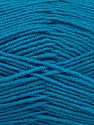 Fiber Content 55% Virgin Wool, 5% Cashmere, 40% Acrylic, Turquoise, Brand Ice Yarns, Yarn Thickness 2 Fine  Sport, Baby, fnt2-47161