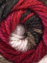Contenido de fibra 100% Acrílico, White, Pink, Brand Ice Yarns, Burgundy, Brown, Beige, Yarn Thickness 4 Medium  Worsted, Afghan, Aran, fnt2-47901
