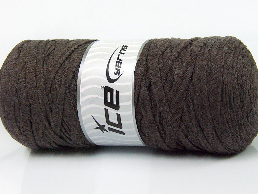 945e367b84ae4 Jumbo Cotton Ribbon café Brun   Ice Yarns Online Yarn Store