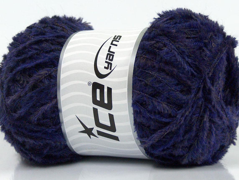 Fringe Merino Purple Camel, Eyelash Yarns | magico gomitolo